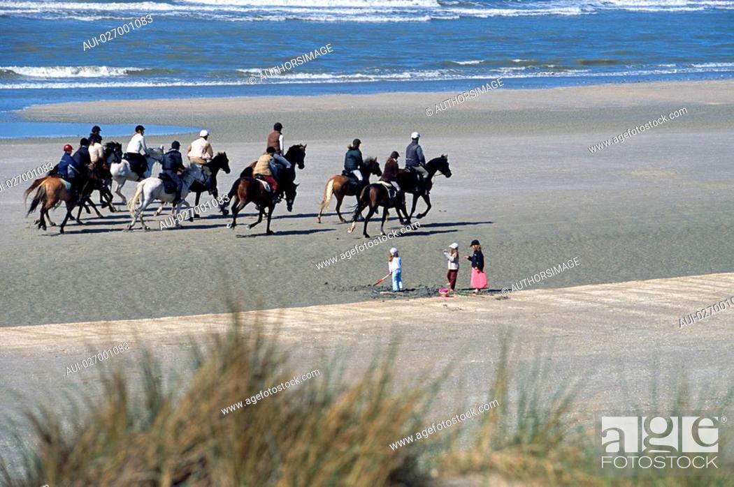 Stock Photo: Belgium - Flanders - North Sea - Belgian Coast - De Panne.