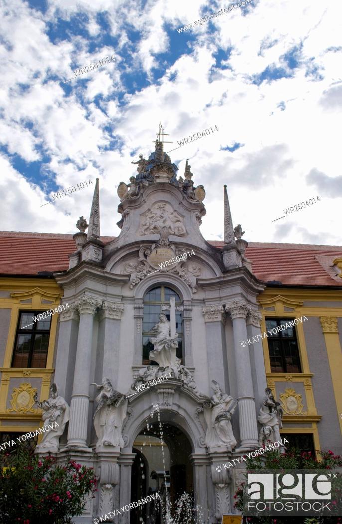 Stock Photo: Abbey in Melk.
