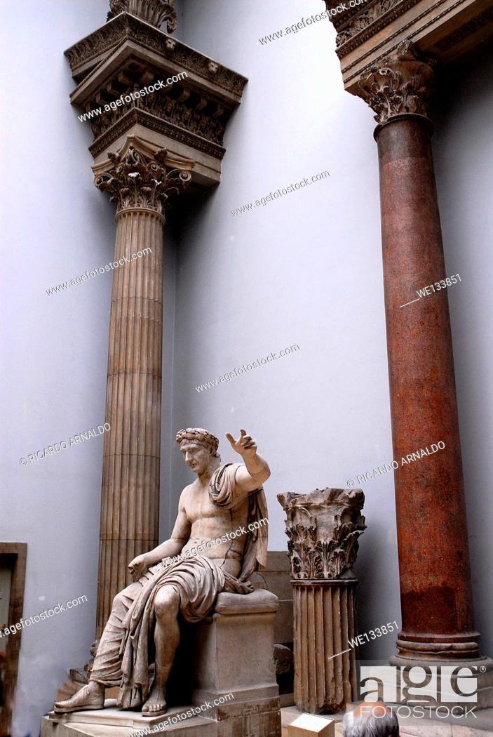 Stock Photo: Pargamon Museum, Berlin.