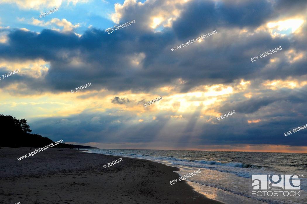 Stock Photo: Baltic Sea.