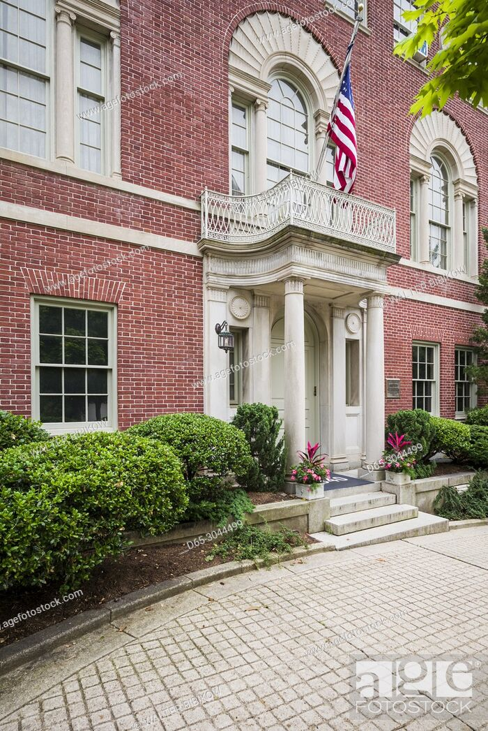Imagen: USA, District of Columbia, Washington, Woodrow Wilson House, former home of President Woodrow Wilson.