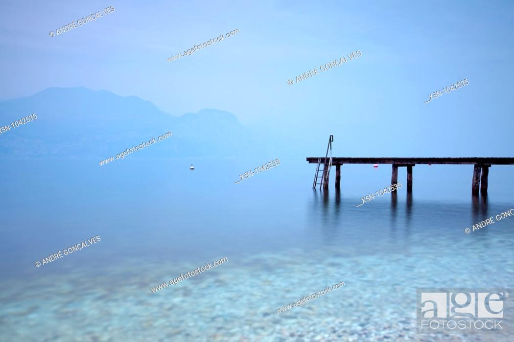 Stock Photo: Lago di Garda.