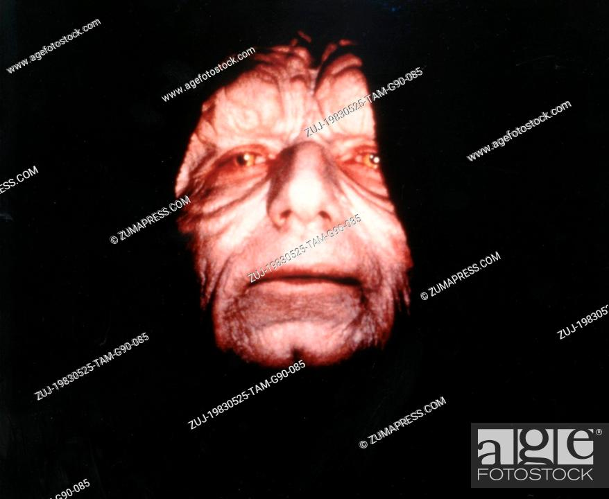 Stock Photo: RELEASE DATE: May 25, 1983  MOVIE TITLE: Star Wars: Episode VI - Return of the Jedi  DIRECTOR: Richard Marquand STUDIO: 20th Century Fox  PLOT: Darth Vader and.