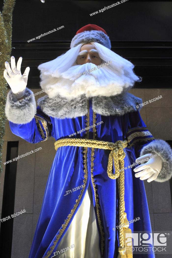 Imagen: Santa Claus, figure, statue, Christmas;.