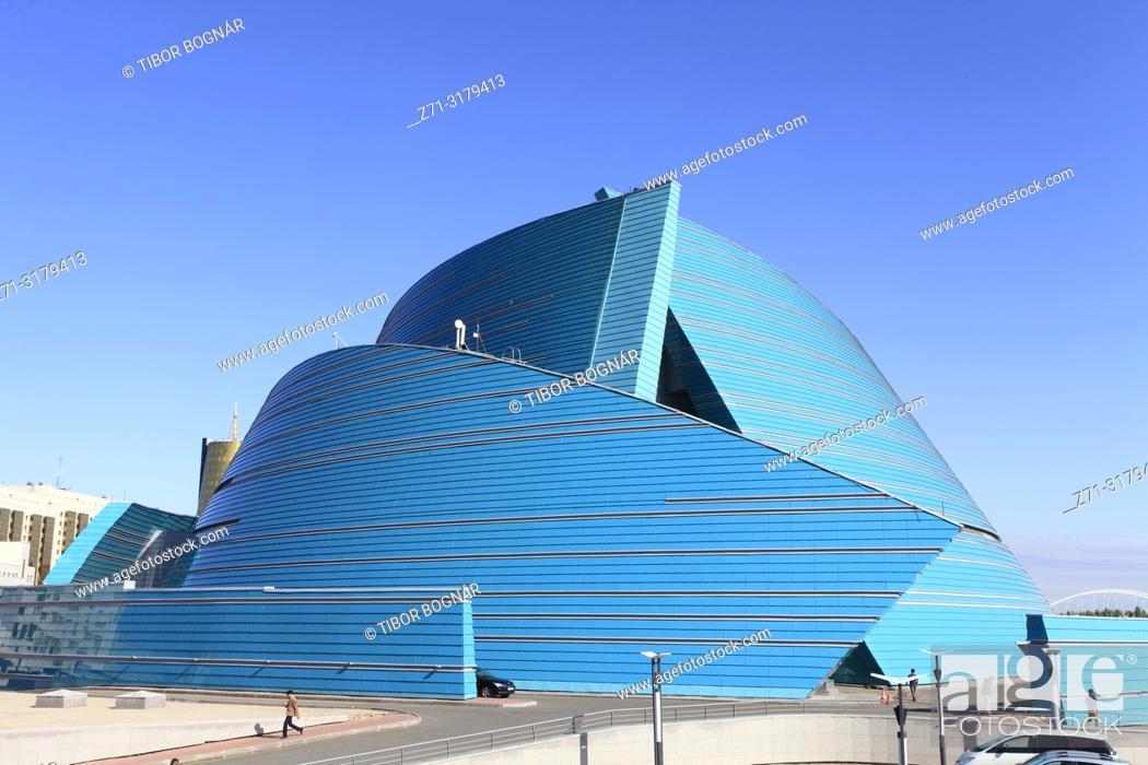 Stock Photo: Kazakhstan; Astana; Central Concert Hall, .