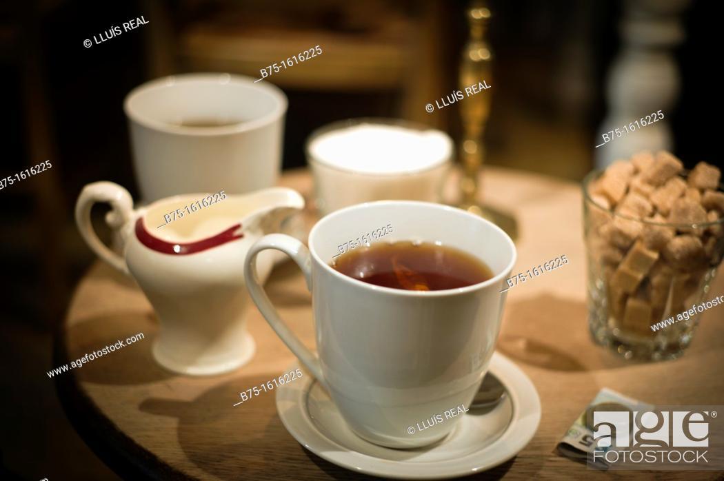 Stock Photo: Afternon tea, Morning Tea, Classic, Traditional, Tea Time.