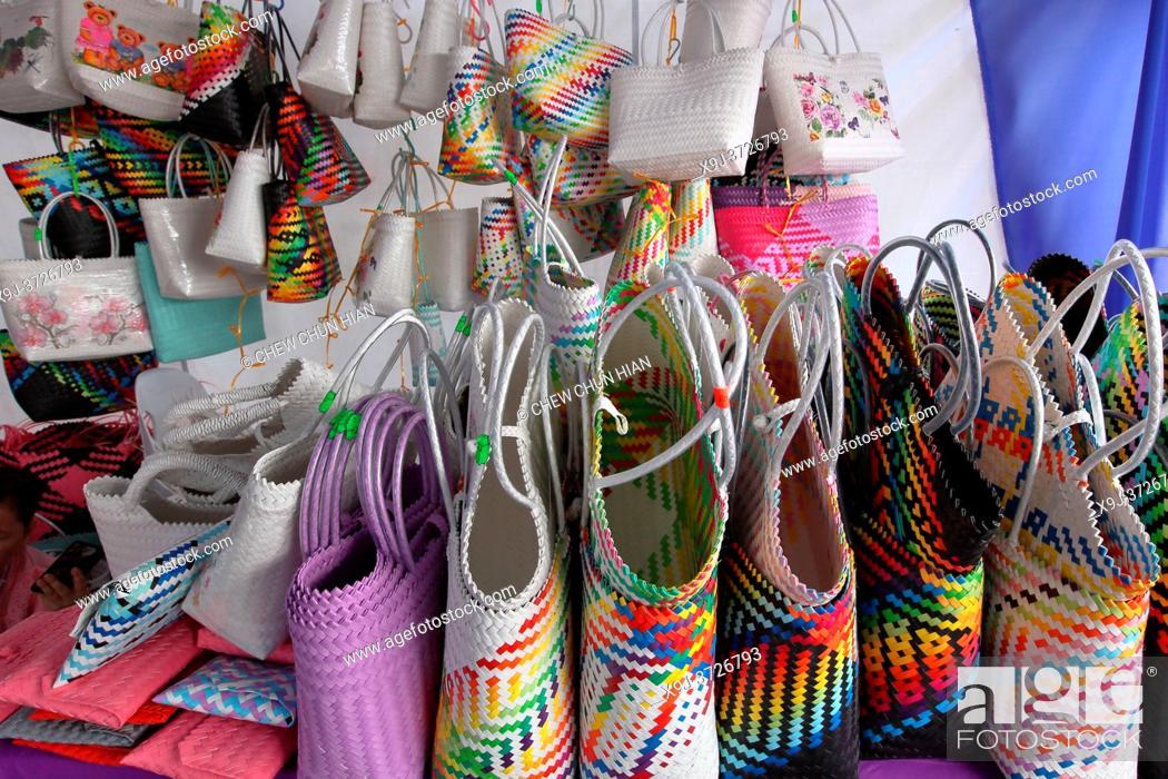Stock Photo: Souvenir, Sarawak Handicraft, Kuching Water Front, Gambir Road, Kuching, Sarawak.