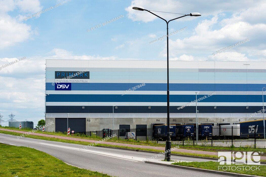 Stock Photo: Roosendaal - Primark Distribution Center Roosendaal Borchwerf II.