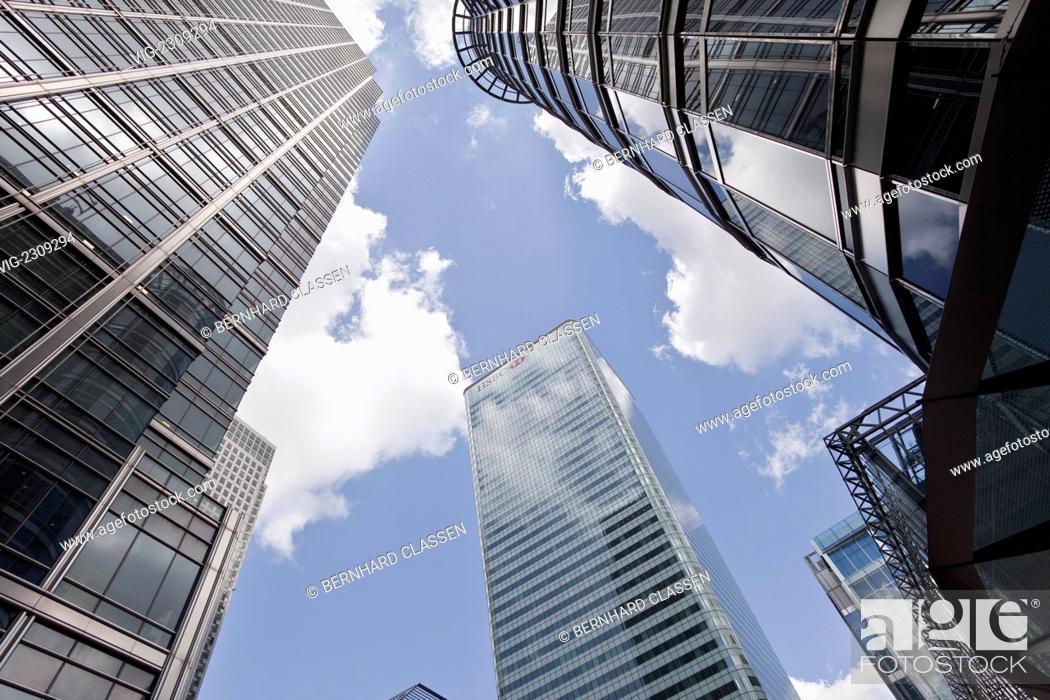 ENGLAND, LONDON, 28 05 2010, The headquarters of HSBC Bank