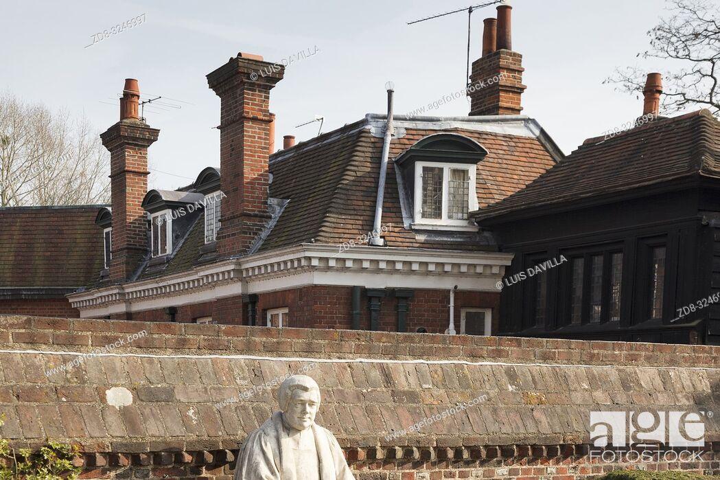 Imagen: Jpseph Goddall monument. Etom College. London. United Kingdom.