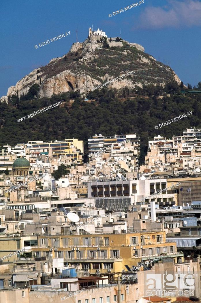 Stock Photo: Mount Lycabettus.