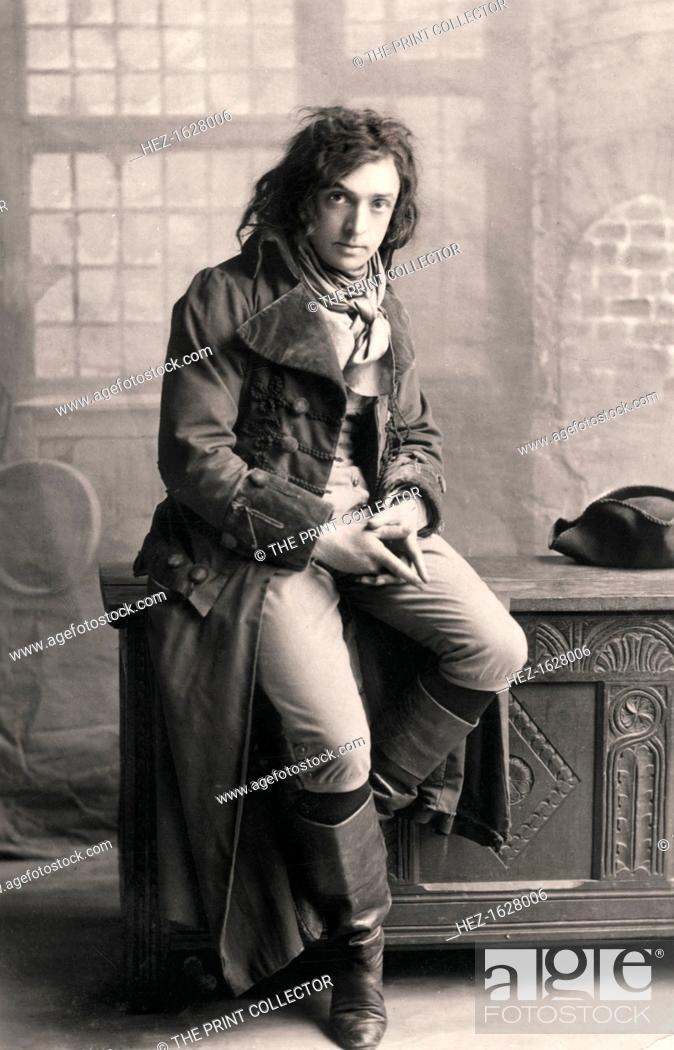 John Martin Harvey (1863-1944), English actor, 1906. Harvey is ...