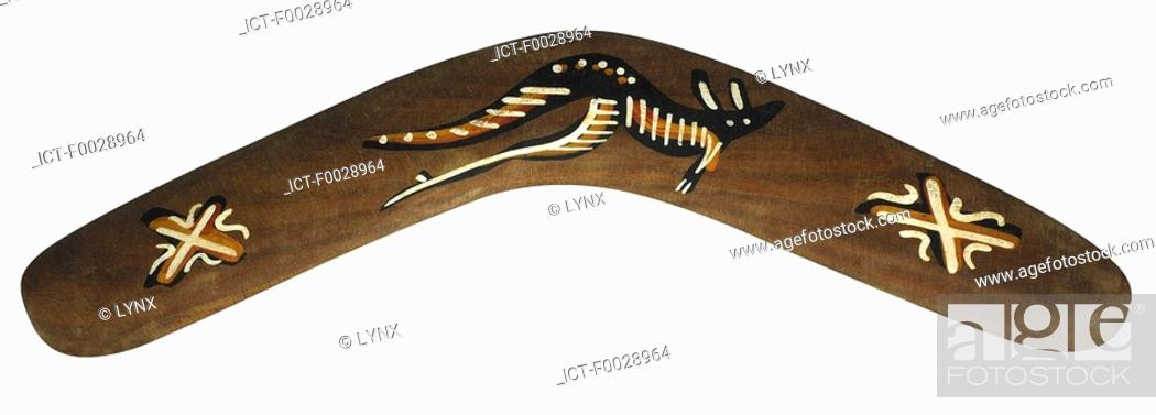 Stock Photo: World symbols: Boomerang Australia.