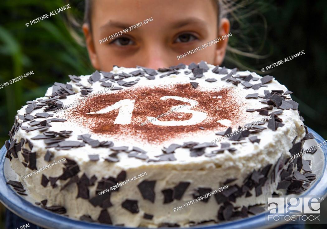 Surprising 11 October 2019 Brandenburg Sieversdorf A Birthday Cake Has The Personalised Birthday Cards Cominlily Jamesorg