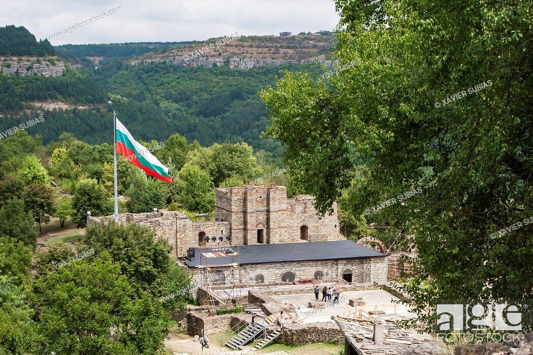 Imagen: The Palace of Tsarevets, Tsarevets Fortress, Veliko Tarnovo, Bulgaria.
