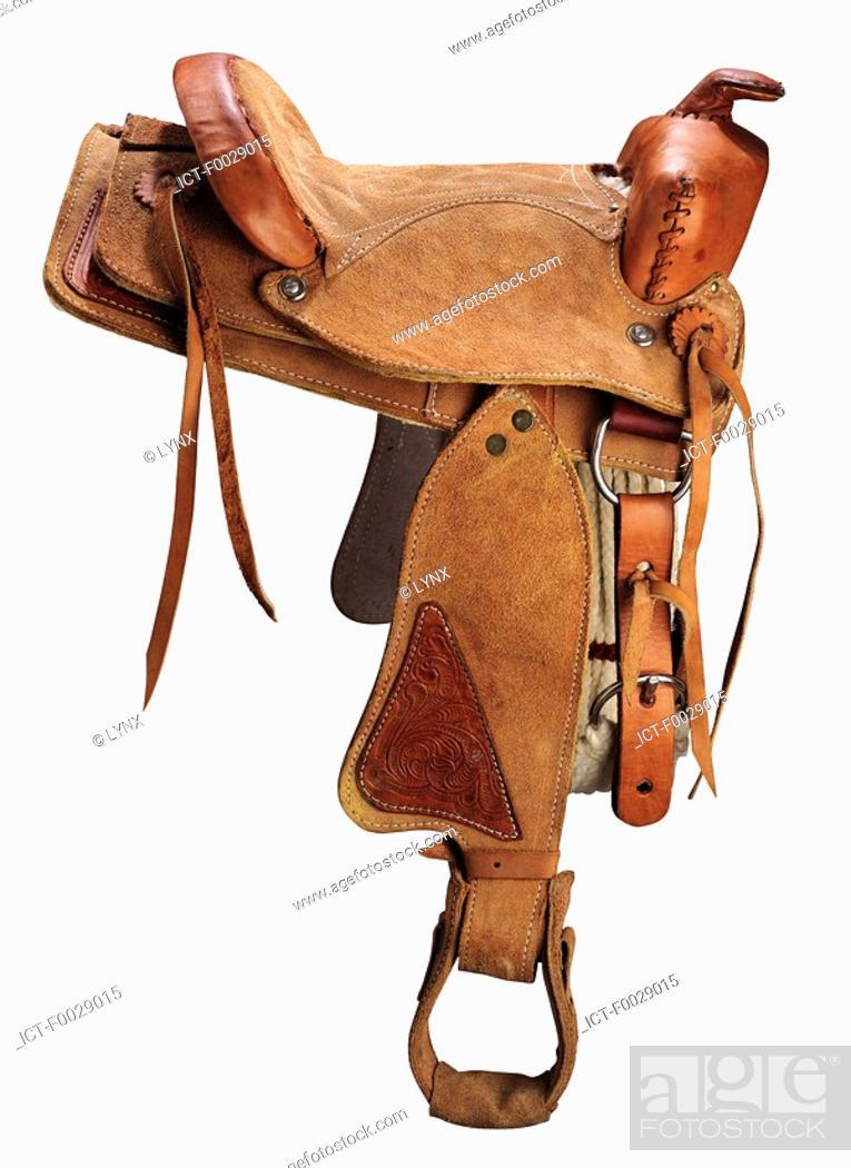 Stock Photo: World symbols: Saddle United States.