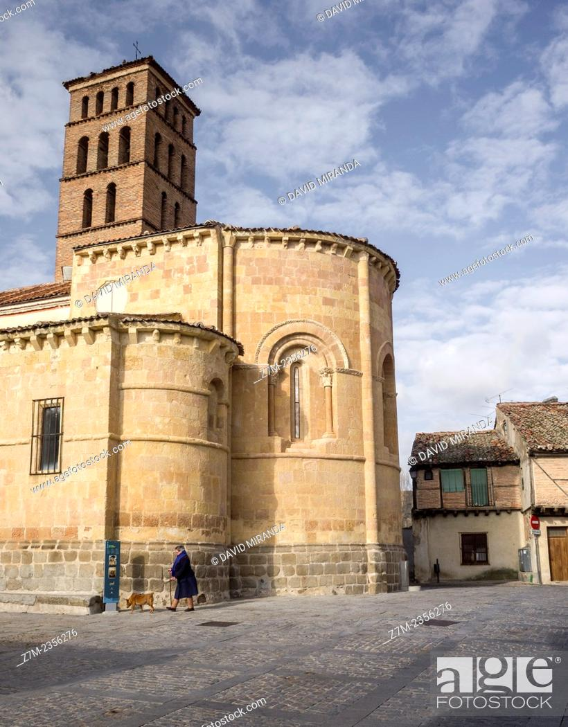 Imagen: Romanesque church of San Lorenzo, Segovia, Castilla-Leon, Spain.