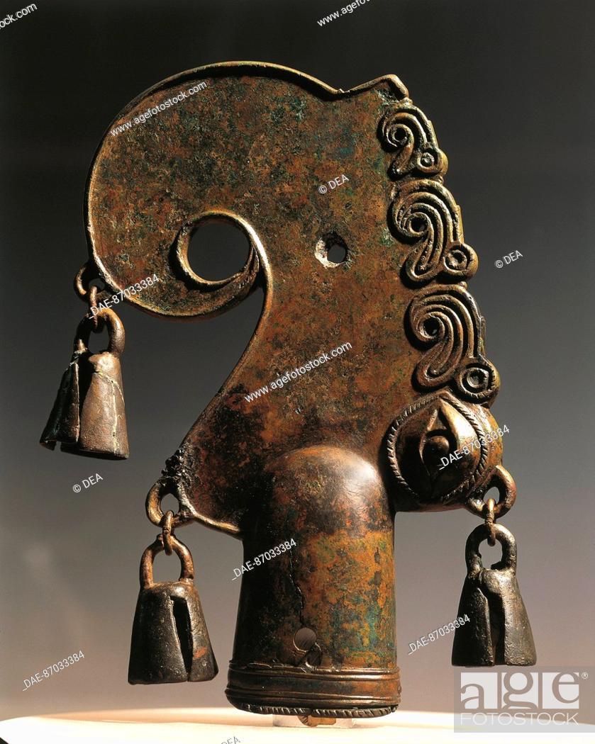 Stock Photo: Art of the Scythians VI-V century BC CROWN OF AUCTION  San Pietroburgo, Gosudarstvennyj Muzej Ermitaj.