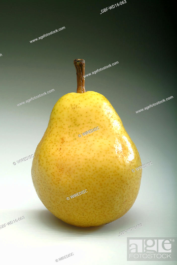 Stock Photo: Food, fruit, pear.