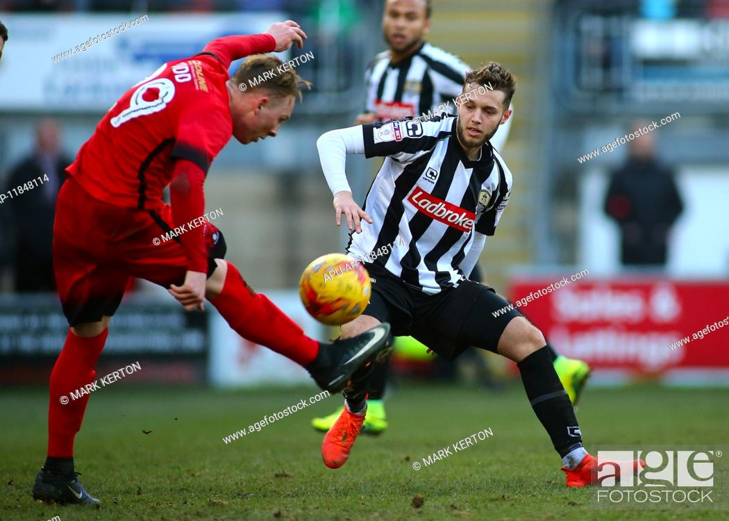 Imagen: 2017 Skybet League 2 football Leyton Orient v Notts County Feb 18th. February 18th 2017, Matchroom Stadium, Leyton, London, England, Skybet Division 2 football.