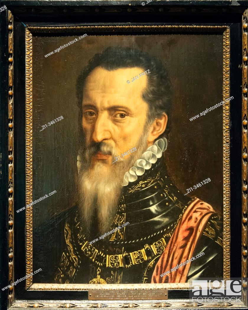 Imagen: 'Fernando Alvarez de Toledo (Duke of Alba)', 1568, Willem Key.