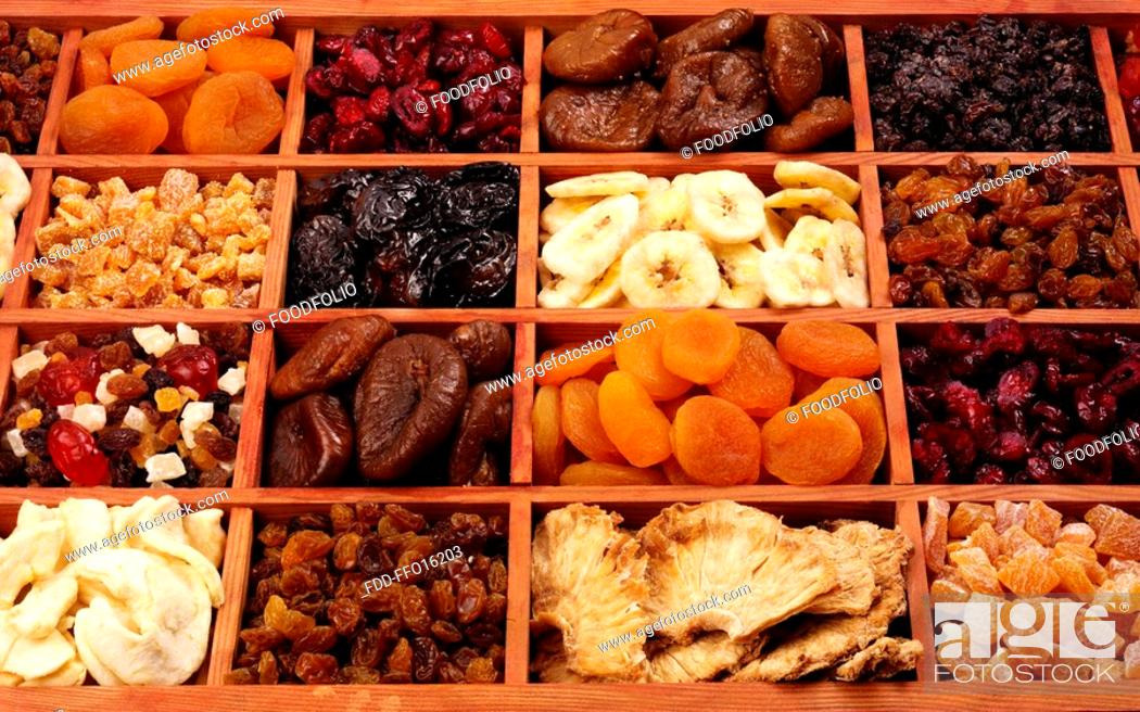 Stock Photo: Dried Fruit - Non Exclusive.