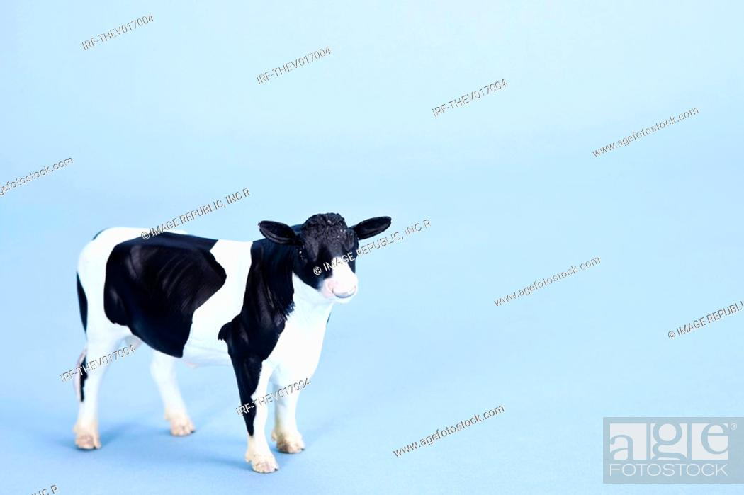 Stock Photo: animal shape, cow.