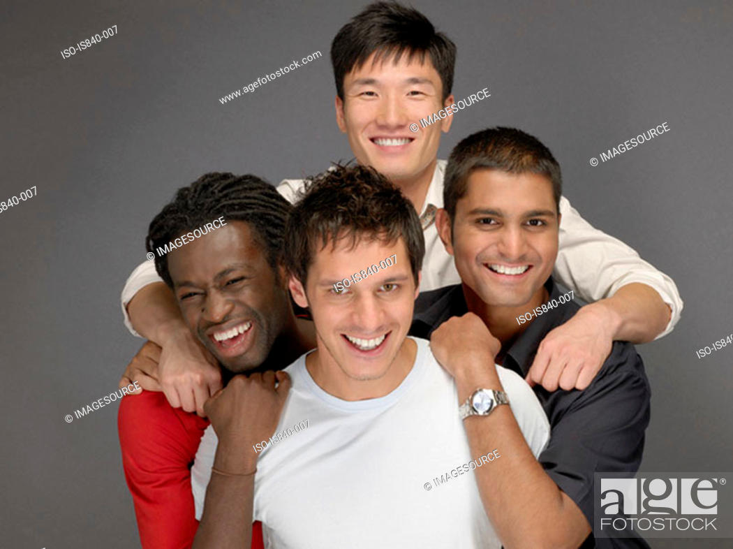 Stock Photo: Friends.
