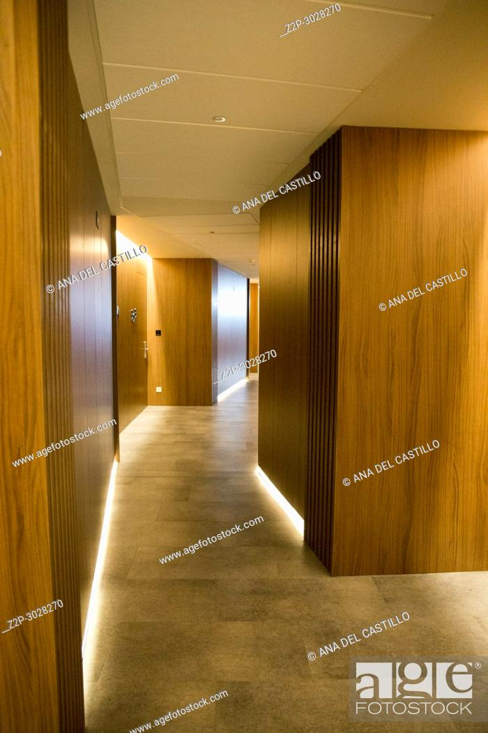 Stock Photo: Modern building interiors. Majorca, Balearic Islands, Spain.