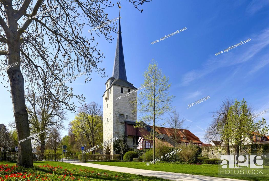 Stock Photo: Klagetor in Bad Langensalza, Thuringia, Germany.