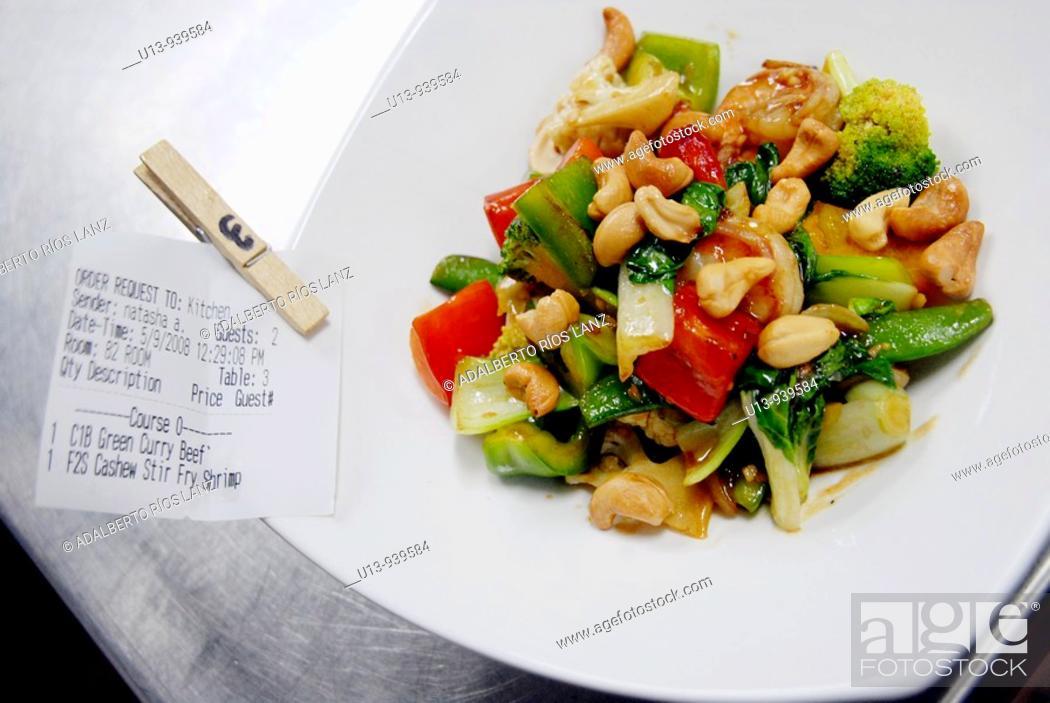 Stock Photo: Thai food.