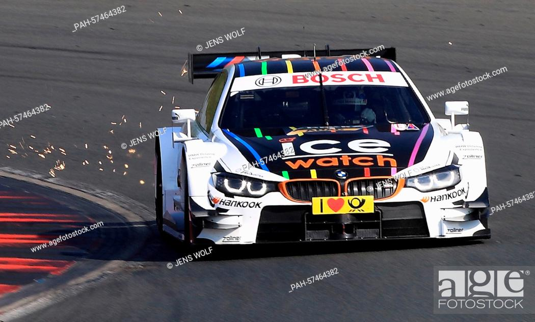 German Racing Car Driver Marco Wittmann Of Bmw Team Rmg In Action During The Test Drive For The Dtm Stock Photo Picture And Rights Managed Image Pic Pah 57464382 Agefotostock