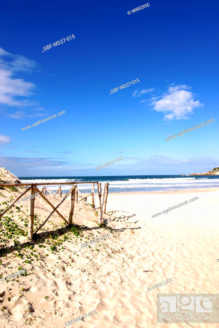 Stock Photo: Beaches, sea, nature, coast line, Brazil.