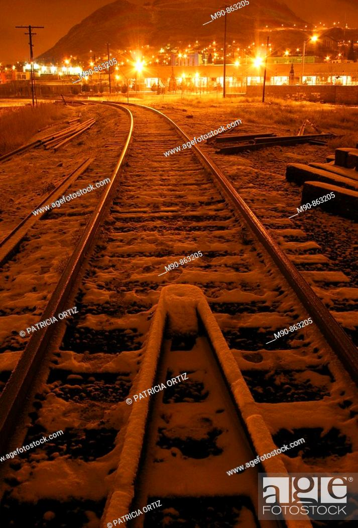 Stock Photo: Tracks.