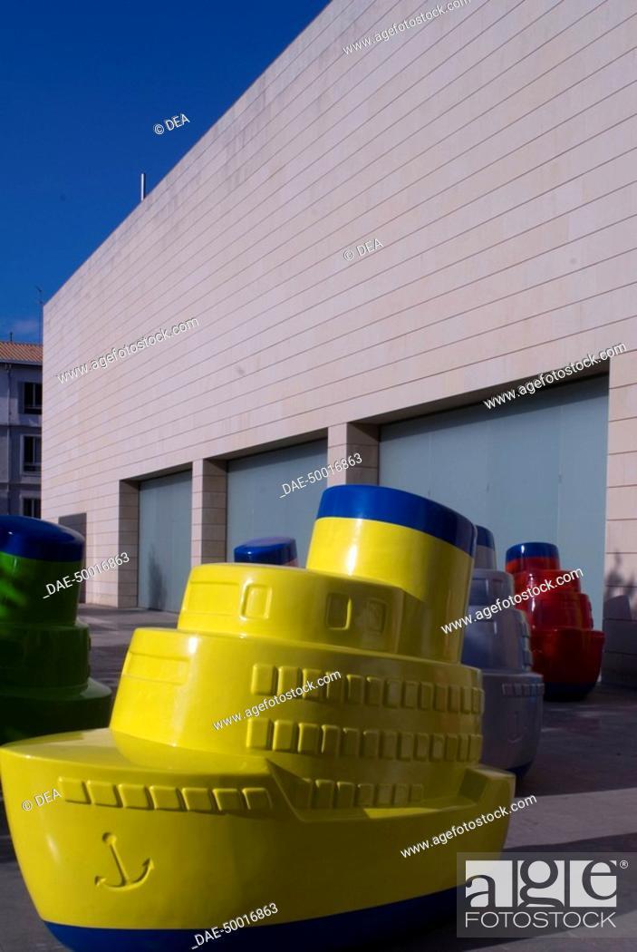 Spain Valencia Installation At Valencian Institute Of