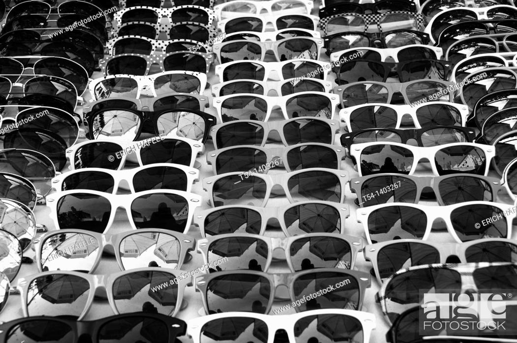 Stock Photo: Color sunglasses.