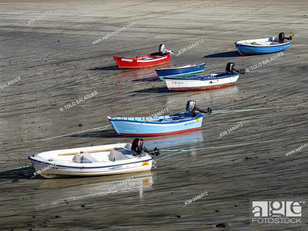 Stock Photo: puerto de Bares, La Coruña, Galicia, Spain.
