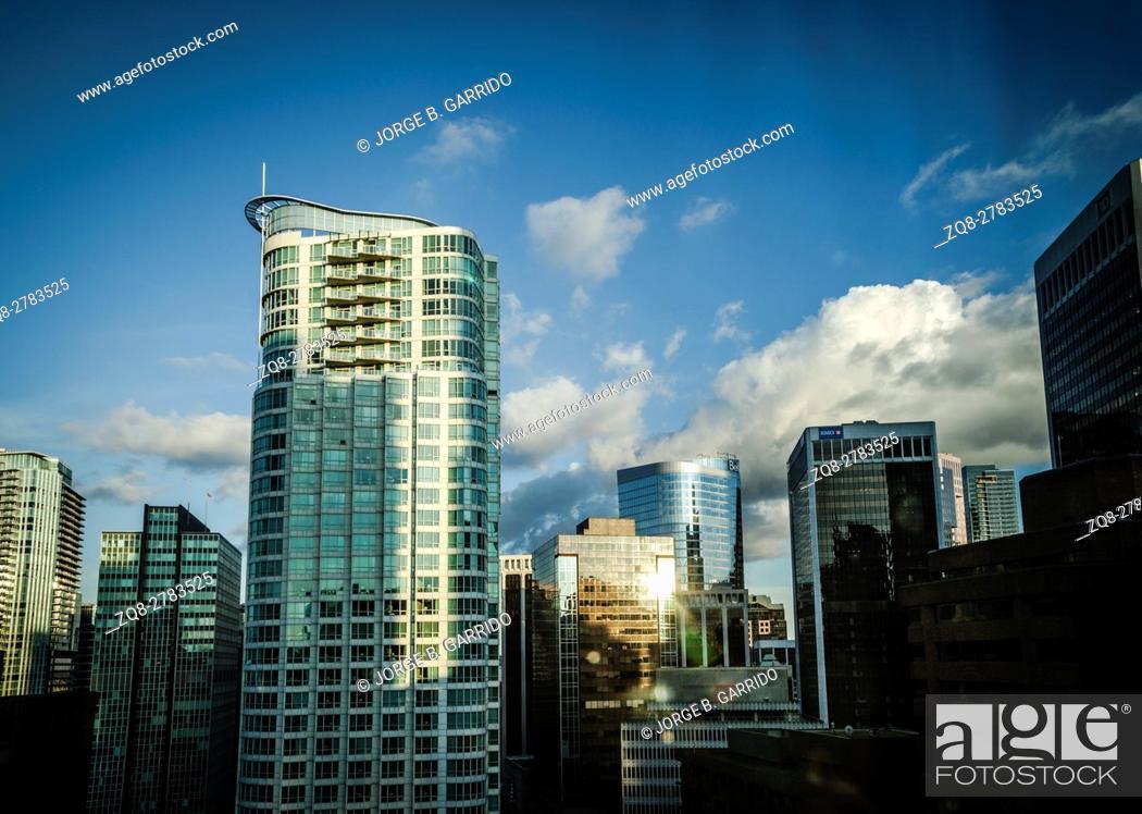 Stock Photo: Vancouver Building.