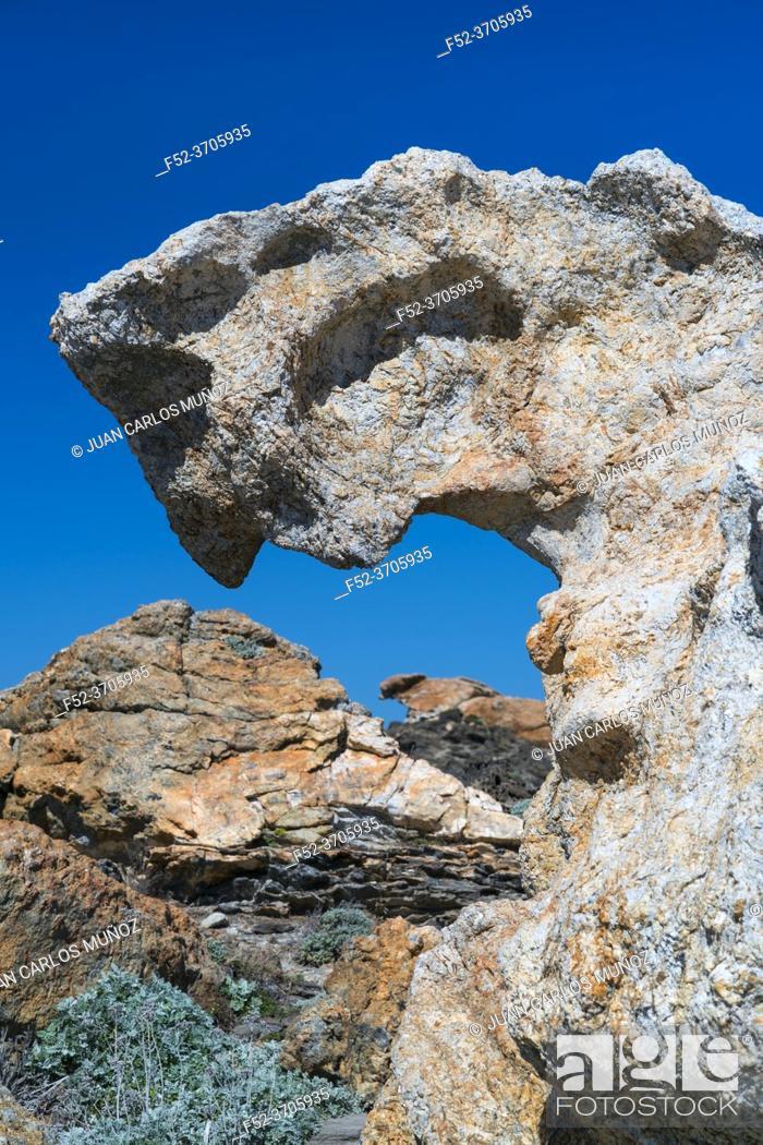 Photo de stock: Cap de Creus Natural Park, The Costa Brava, Alt Emporda, Emporda region, Girona Province, Catalonia, Spain.