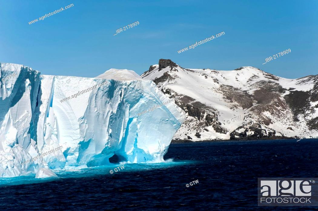 Imagen: Antarctic Sound, Antarctic Peninsula, Antarctica.