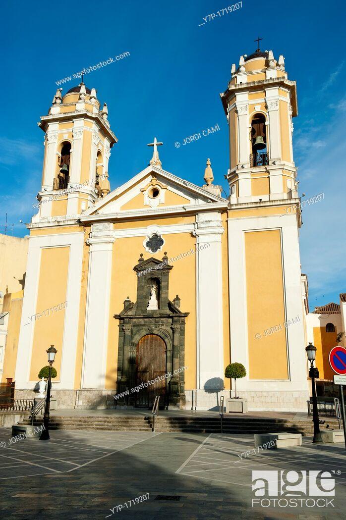 Stock Photo: Catedral de la Asuncion  Ceuta  Spain.