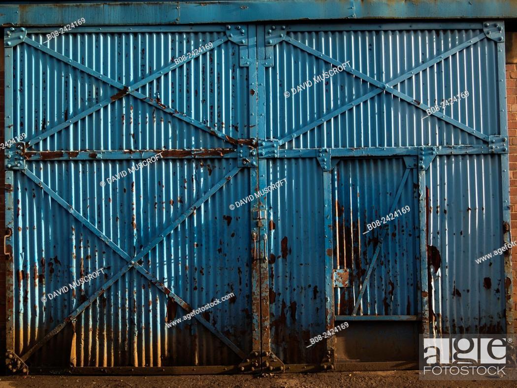 Stock Photo: building, derelict, Sheffield, UK.