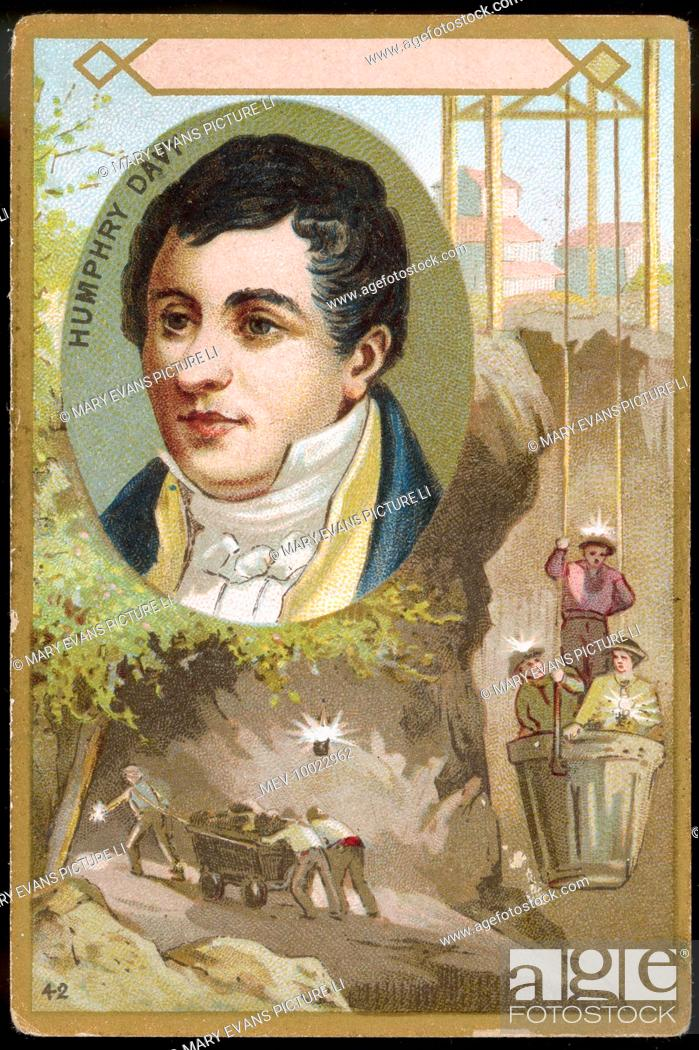 Sir Humphry Davy Chemist Inventor Of The Miner S Safety Lamp 1815