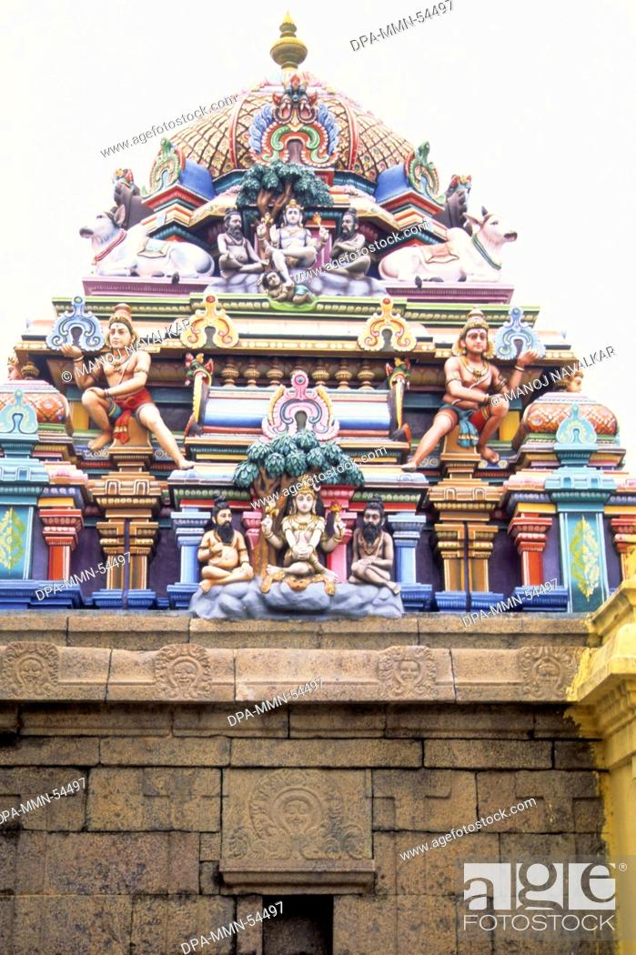 Stock Photo Kapaleeswarar Temple Mylapore In Chennai At Tamil Nadu India
