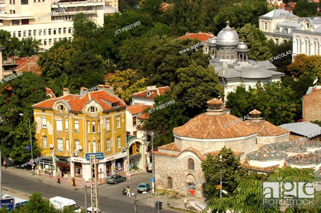 Stock Photo: Bulgaria, Plovdiv, old city.
