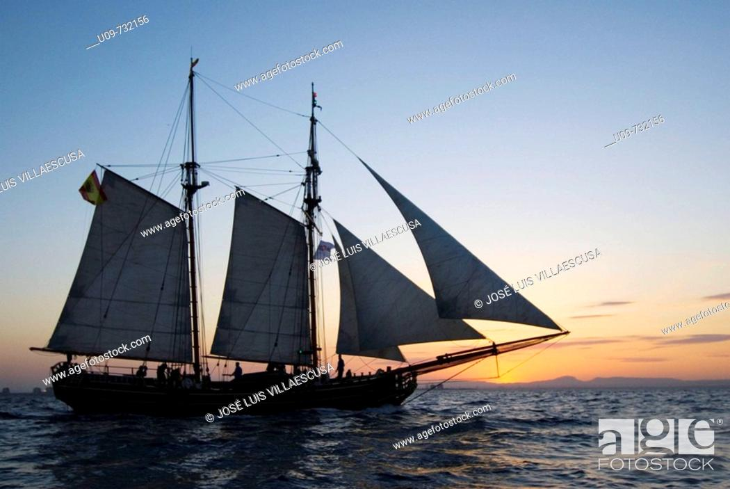Stock Photo: Sadko schooner.