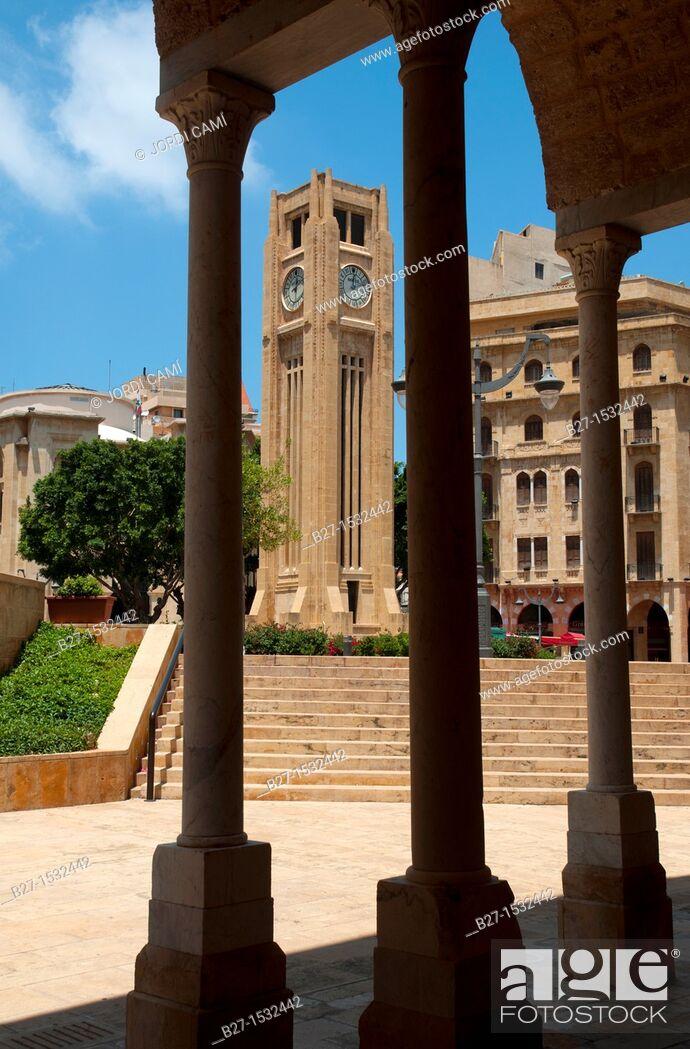 Stock Photo: Etoile Square  Beirut Down Town  Lebanon.