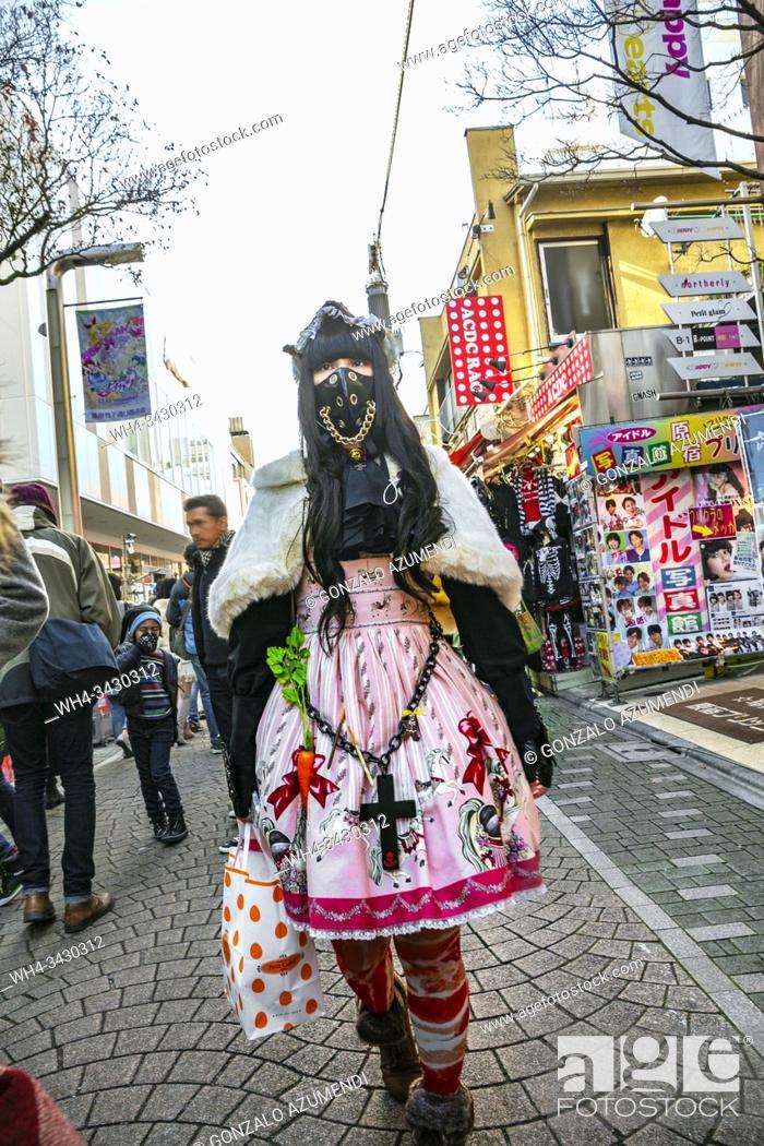 Stock Photo: Japanese, Tokyo, Japan, Asia.