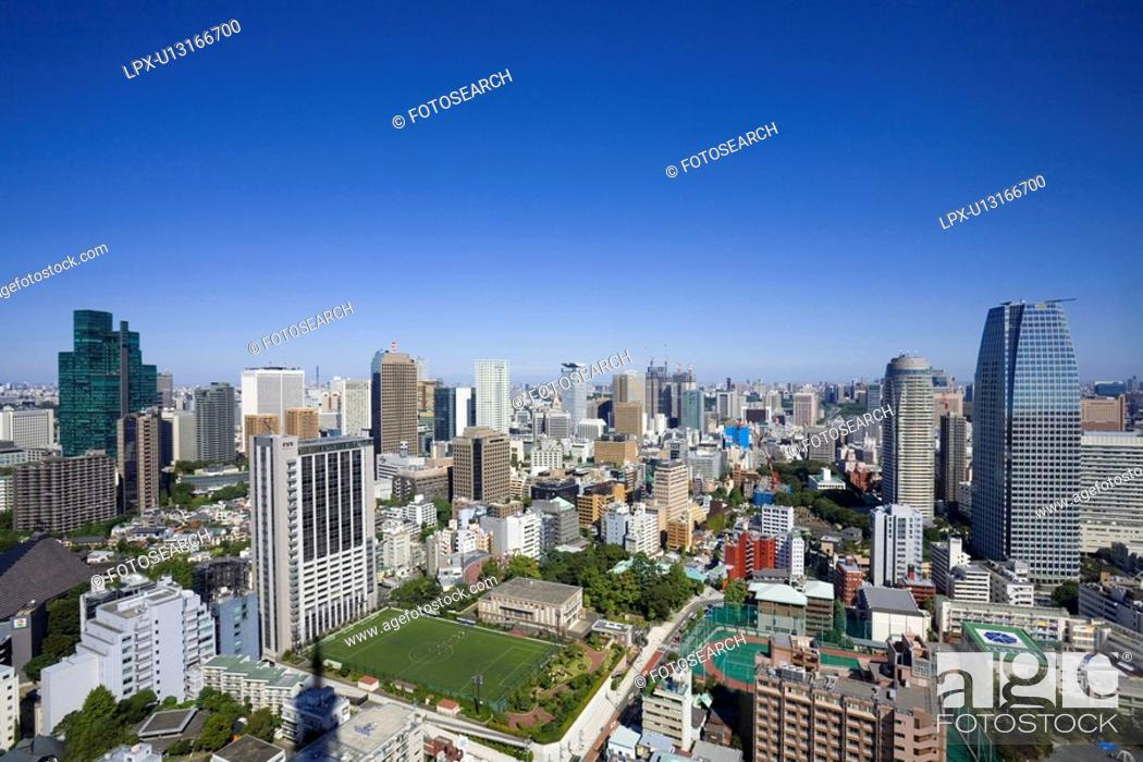 Stock Photo: High-rise buildings.