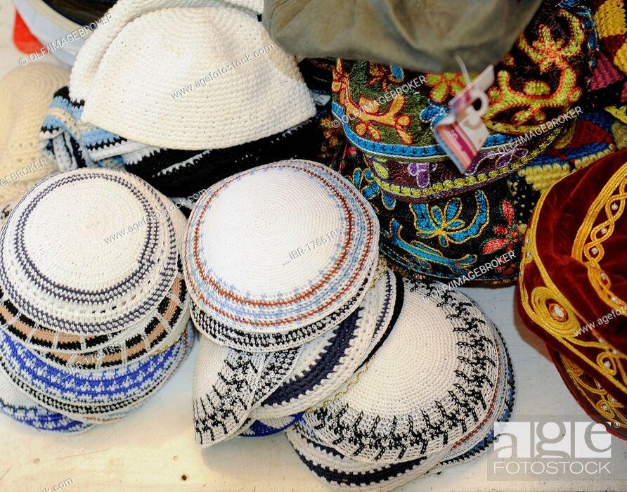 81baf7836a8 Stock Photo - Kippahs or yarmulkes